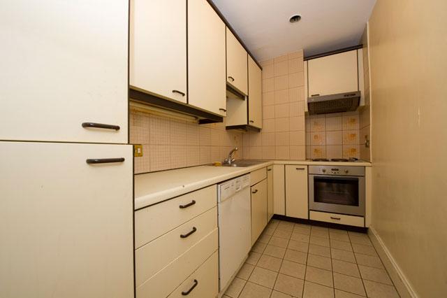 Kitchen before refurbishment